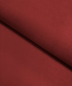 Suede Material Plain Dyed - Maroon
