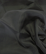 Voile Fabric Wide Width (290cm) (Inherent Fire Retardant) - Black