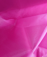 Organza Fabric Fire Retardant (None Durable Fire Retardant) 290cm wide - Cerise