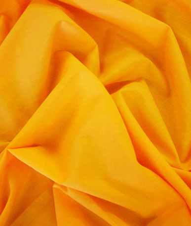 Poly Cotton Fabric - Orange