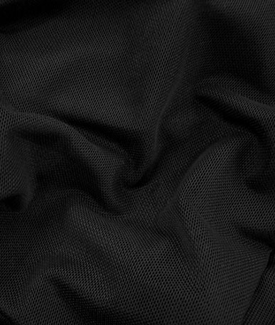 Helenca Mesh Fashion Fabric - Black