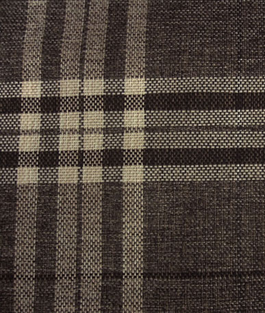 Gleneagles Polyester Curtain Fabric - Nutmeg Check