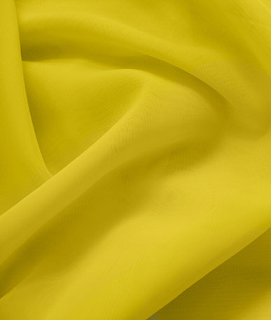 Fire Retardant Polyester Voile - Golden
