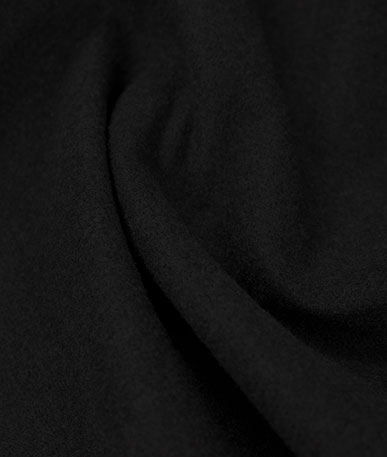 Felt Headlining Fabric 2mm - Black - Black