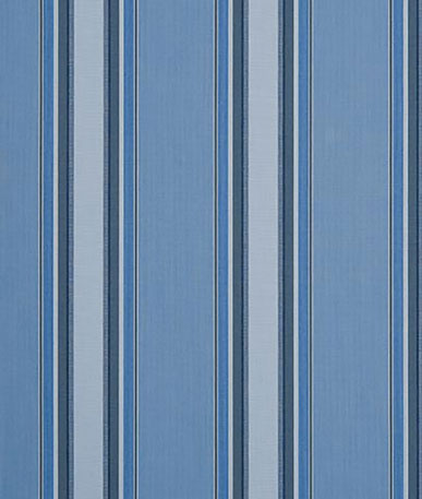 Chicago Stripe Awning - Blue (7466)