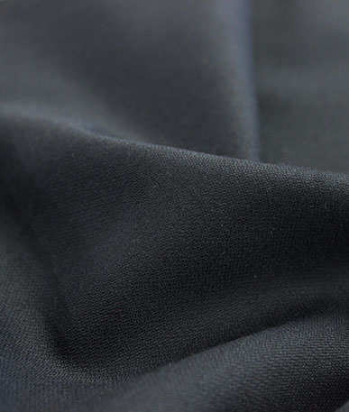 Polyester Wool Mix Suiting(3) Midnight - Midnight Blue