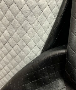 Diamond Quilted Leatherette