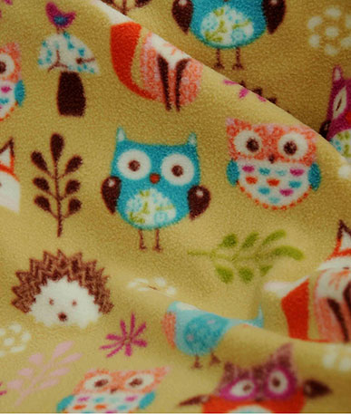 Woodland Animals Fleece - Woodland Animals