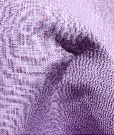 Clearance Linen Type Fabric (D) - Lilac
