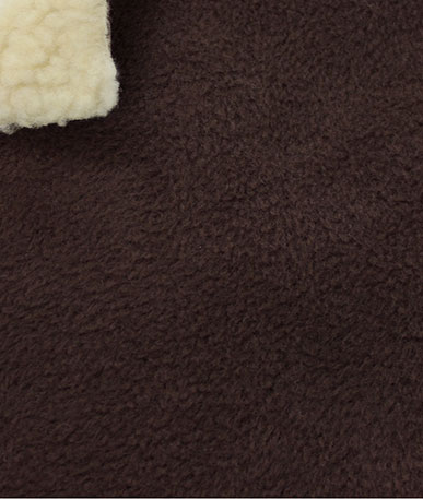 Sherpa Fleece Bonded - Brown