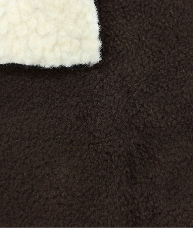 Sherpa Fleece Bonded - Chocolate