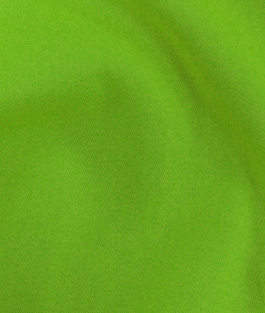 Hi-Vis Plaza Polyester Twill - Neon Lime
