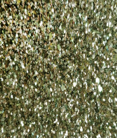 Green/Gold Mix Display Glitter Fabric