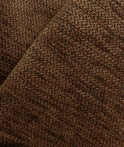 Autumn Brown Chenille Weave - Autumn Brown