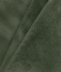 Smokey Green Velour Fabric - Smokey Green