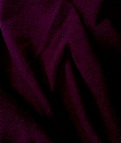 Wool Flannel Fabric - Wine