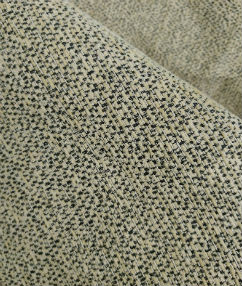 Black Speckled Upholstery Fabric - Wheat