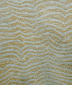 Tiger Stripe Soft Chenille Upholstery  - Blonde