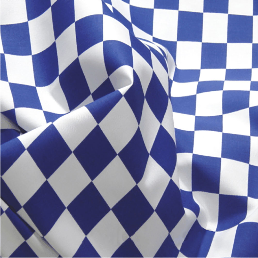 Chequered Flag -1 Inch Squares