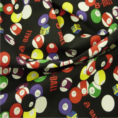 Casino Printed Cotton Fabrics Fabric Uk