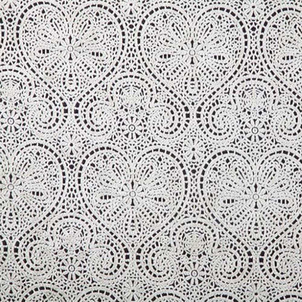 Vintage Hearts Lace Fabric Fabric Uk